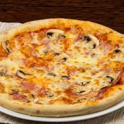 Poza cu Pizza Prosciutto Funghi