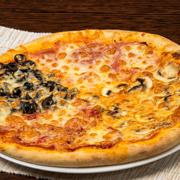 Poza cu Pizza Quattro Stagioni